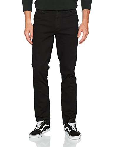 Mustang Herren Fit Jeans Tramper Tapered, Schwarz (Midnight Black 490), W34/L30