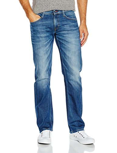 Mustang Herren Jeanshose Oregon Straight, Blau (Light Scratched Used 583), W30/L34