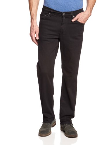 Mustang Herren Straight Leg Jeans Big Sur, Schwarz (midnight black 490), W34/L38