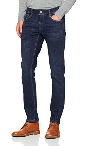 Mustang Oregon Tapered Herren Tapered Fit Jeans, Blau (Dark 882), W31/L30, 1005753
