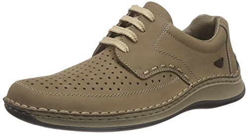 Rieker 05237 Lace-up-men Herren Brogue Schnürhalbschuhe