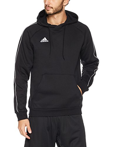 adidas Herren Core 18 Pullover, Black/White, XL