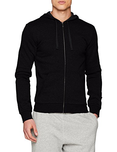 adidas Herren Essentials Base Full-Zip Hoodie, Black, 2XL