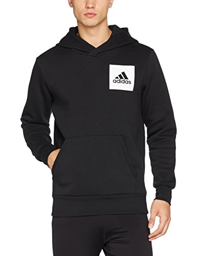 adidas Herren Essentials Logo Sweatshirt, Black, S