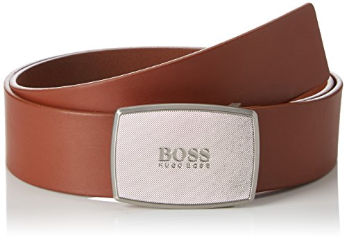 BOSS Casual Herren Gürtel Jens-A_Sz40, Braun (Medium Brown 210), 110