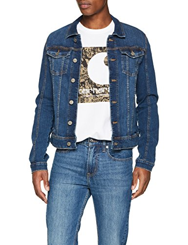 Blend Herren Jacke 20706078, Blau (Denim Middleblue 76201), Large