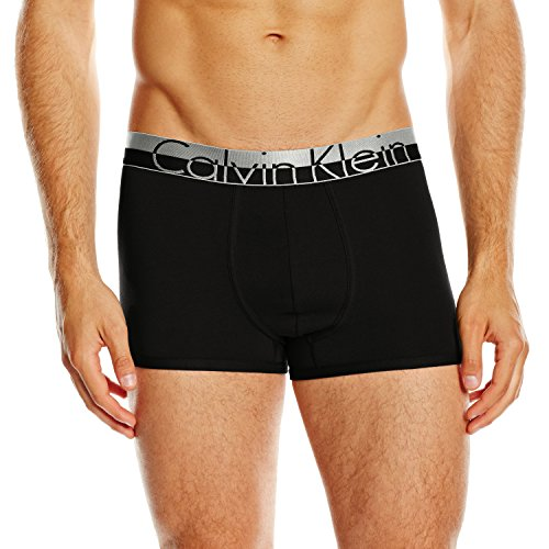 Calvin Klein Herren Boxershorts MAGNETIC COTTON - TRUNK, Gr. Medium, Schwarz (Black 001)