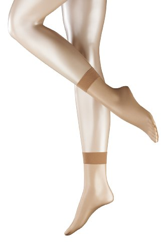 FALKE Damen Socken Shelina 12 den SO, Gr. 39/42, Beige (powder)