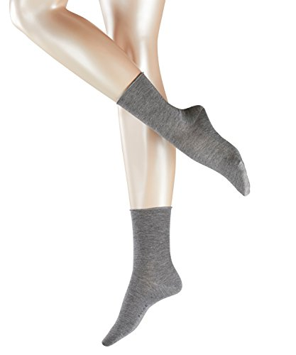 FALKE Damen Strick Socken Active Breeze, Gr. 35/38, Grau (greymix 3399)