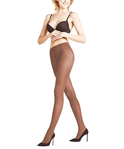 FALKE Matt Deluxe 30 den Damen Strumpfhose coffee (5309) L transparent & matt