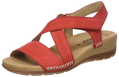 Gabor Shoes Damen Jollys Pantoletten, Rot (Kiss), 36 EU