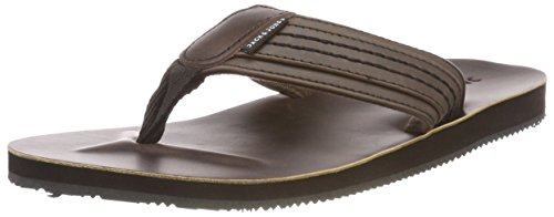 JACK & JONES Herren Jfwbob Leather Sandal Java Zehentrenner, Braun (Java), 40 EU