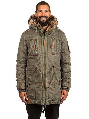 Naketano Male Jacket Last Don Mede IV Olive, S