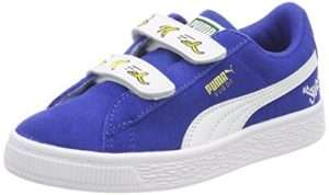 Puma Unisex-Kinder Minions Suede V PS Sneaker