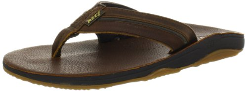 Reef Herren Playa Cervesa Sandalen Flipflops, Marrón (Brown/Hemp), 42