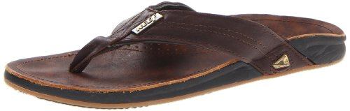 Reef J-BAY Herren Zehentrenner, Braun (DARK BROWN/DAB), 46