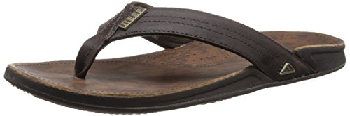 Reef J-Bay III, Herren Zehentrenner - Braun (Dark Brown DAB) - 47 EU (13 UK)