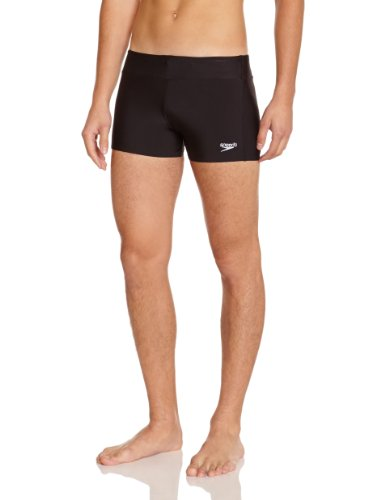 Speedo Herren Badehose Essential Houston Aquashorts, Black, 5, 8-1411100015