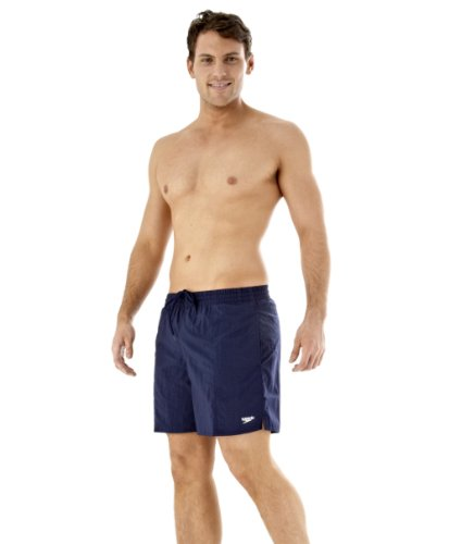 Speedo Herren Badeshorts Solid Leisure, blau, XL, 8156910016