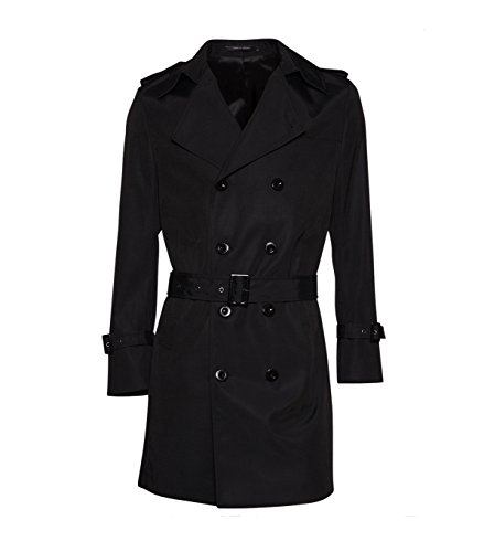 Tiger of Sweden Herren Trenchcoat Rembrandt Black 050 Black 50