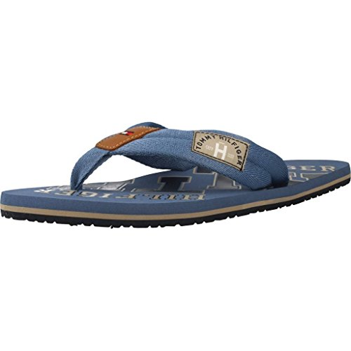 Tommy Hilfiger Essential TH Beach S FM0FM01369, Blau (Jeans-013), 43 EU
