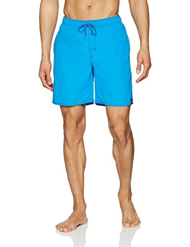 adidas Herren Solid Mid Length Badeshorts, Bright Blue, L