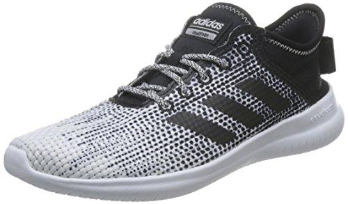 adidas Damen CF Qtflex W Low-Top, Schwarz