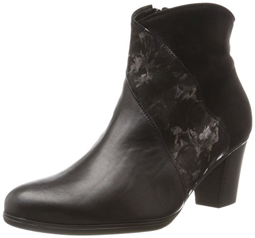 Gabor Shoes Damen Basic Stiefel, (37 Schwarz/Anthrazit), 38.5 EU