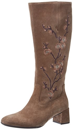 Gabor Shoes Damen Basic Stiefel, Braun (18 Walnut), 43 EU