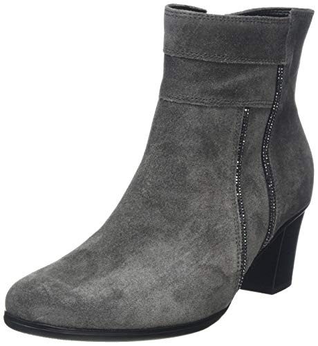 Gabor Shoes Damen Basic Stiefeletten, Grau (Pepper 19), 39 EU