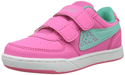 Kappa Mädchen Trooper Light Ice Kids Sneaker