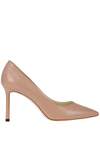 Jimmy Choo Damen MCGLCAT000005011E Rosa Leder Pumps