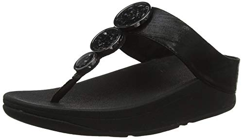 Fitflop Damen Halo Shimmer Toe-Thongs Sandalen
